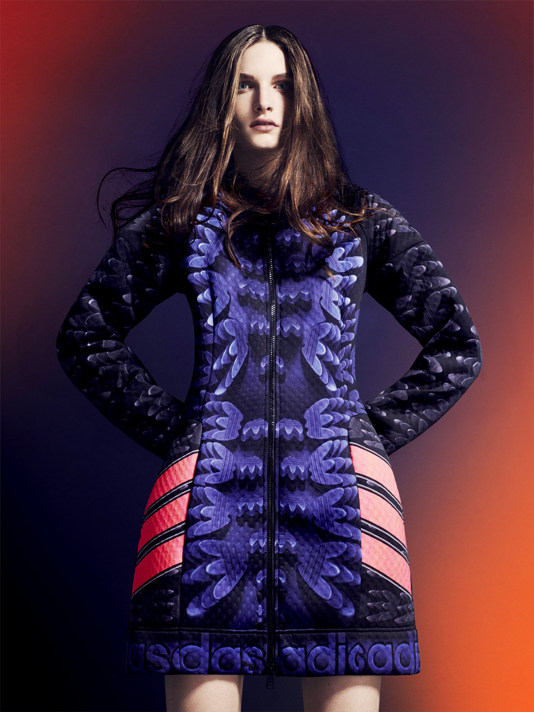 Katrantzou mary announces collaboration with adidas forecast to wear in summer in 2019