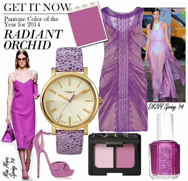 radiant orchid trend