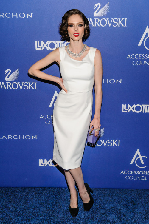 Coco Rocha attends the 2014 ACE Awards in New York