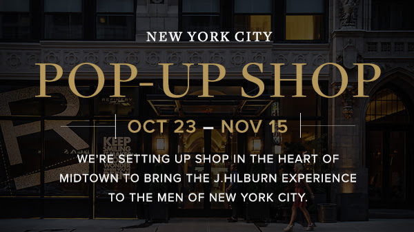 J Hilburn Pop Up Shop