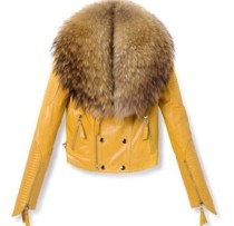 wbi2o3-l-610x610-jacket-leather-jacket-faux-fur-jacket-yellow-jacket-red-jacket-purple-jacket