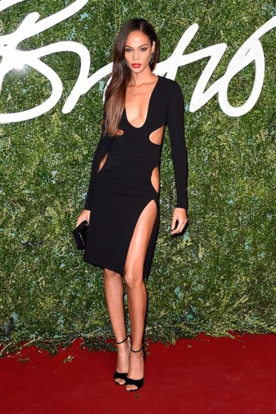 joan-smalls-tom-ford-cutout-dress-2014-british-fashion-awards
