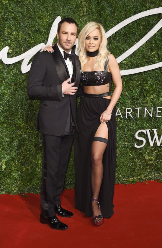 Stars strut their stuff at the British Fashion Awards **USA ONLY**