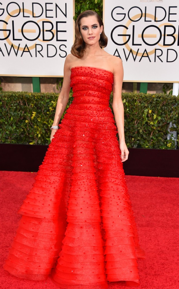 Allison Williams Golden Globes
