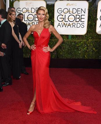 Globes 1- Heidi Klum