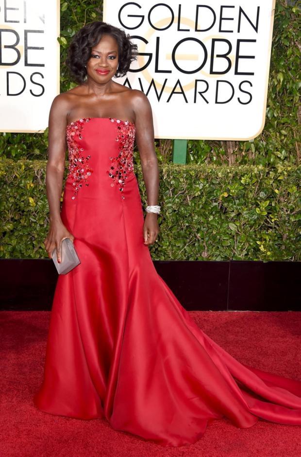 Viola Davis Golden Globes