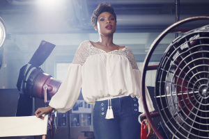 Jennifer Hudson in an ad for Soho Jeans Collection.