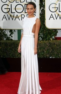 golden globes- alicia vikander