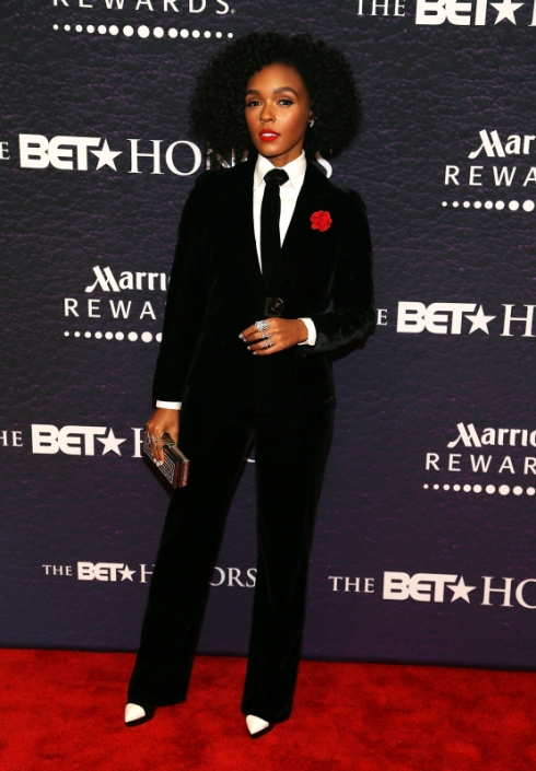WASHINGTON, DC - MARCH 05:  Recording artist Janelle Monae attends the BET Honors 2016 at Warner Theatre on March 5, 2016 in Washington, DC.  (Photo by Paul Morigi/FilmMagic)