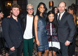 Timo Weiland, Alan Eckstein, Chanel Iman, Donna Kang, Michael Anderson