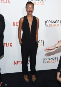 """attends """"Orange Is The New Black"""" premiere at SVA Theater on June 16, 2016 in New York City."""