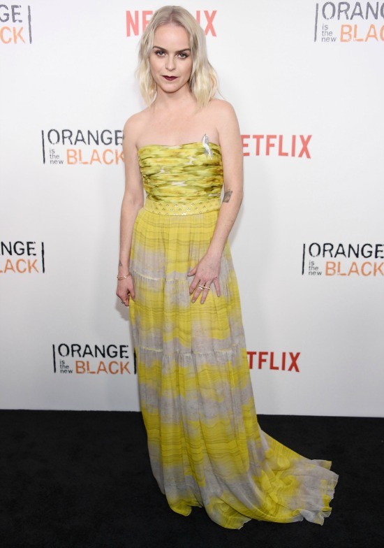 "attends ""Orange Is The New Black"" premiere at SVA Theater on June 16, 2016 in New York City."