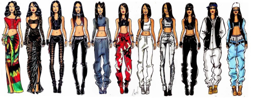 aaliyah outifts 2