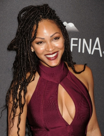 Image result for meagan good with locs